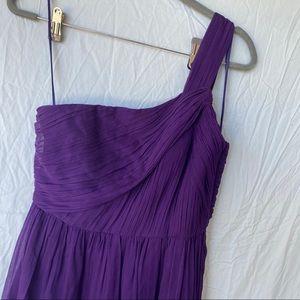 J Crew purple formal dress